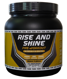 PRE-WORKOUT | Rise And Shine